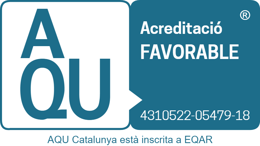 Acreditación favorable de AQU Cataluña